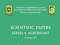 Scientific Papers. Series A. Agronomy imagine 1